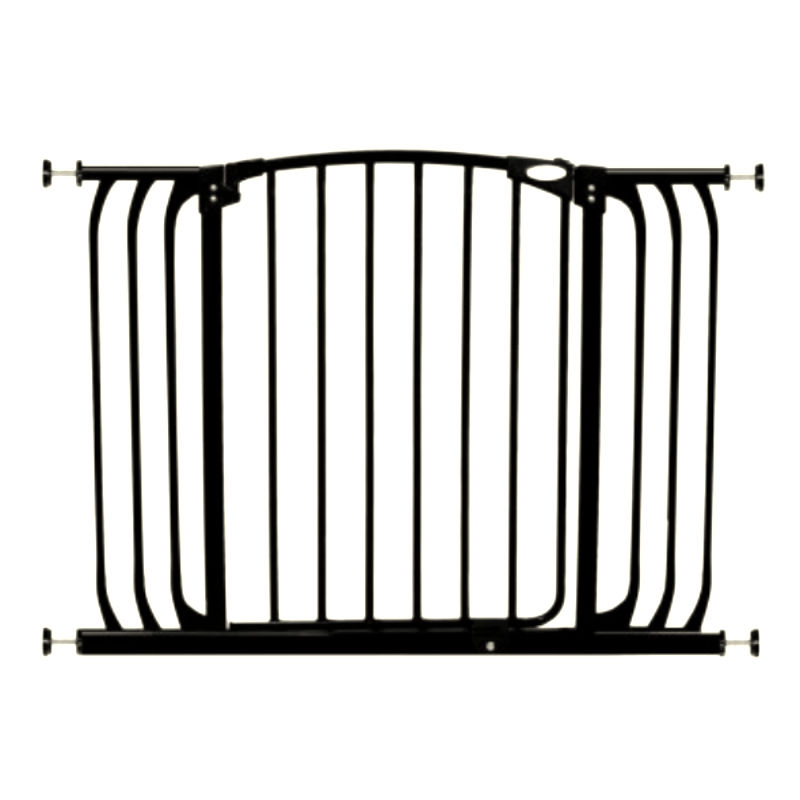 Chelsea Extra Wide Swing Close Gate Plus 21 Black 60