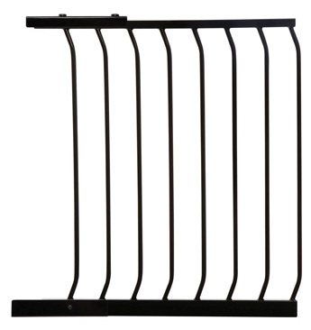 Chelsea Extra Wide Swing Close Gate Plus 24 5 Black 63