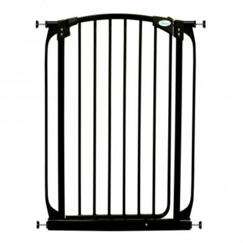 Chelsea Extra Tall Swing Close Gate Plus 17 5 Black 39