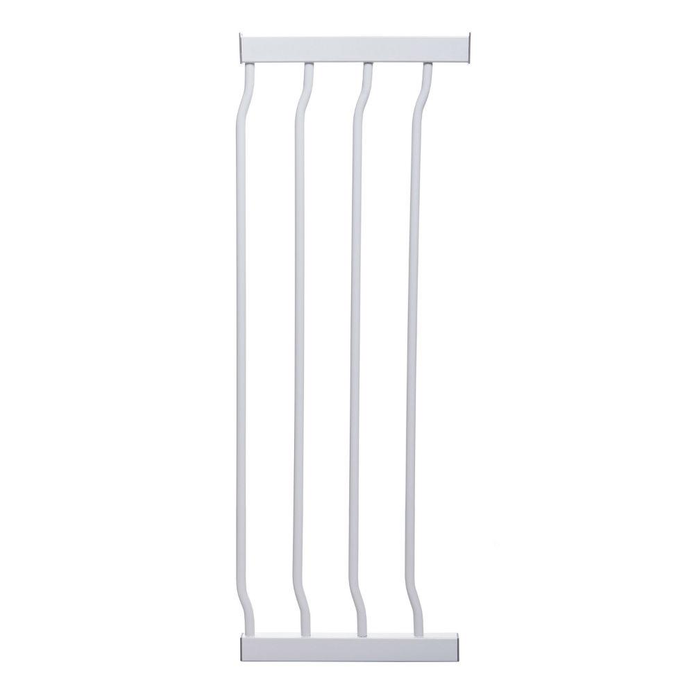 Liberty Xtra Hallway Security Gate Plus 10 5 White 49 5